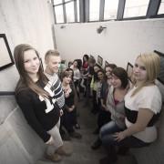 Uczniowie Szkół Europejskich